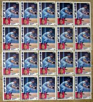 George Brett 1984 Topps #500 Kansas City Royals 20ct Card Lot
