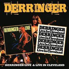 Rick Derringer Derringer Live/Live In Cleveland 2-CD NEW SEALED 2013