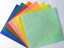 "🌸 12"" Holiday Jewel Gem Pastel Color Translucent Vellum Paper Card Wedding Ch"
