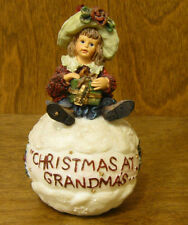 Boyds Resin Ornament #25858 Shannon.Christmas At Grandma'S From Retail Store