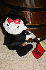 "Rocky & Bullwinkle Boris Badenov Plush Stuffed Toy New Villain Gun Bang 13"" #E6"