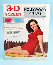 3-D Screen Hollywood Pin-Ups No 1 1953 w Marilyn Monroe Anaglyph