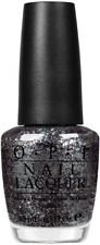 OPI NL N15 METALLIC 4 LIFE Black Glitter Nail Polish Lacquer .5 oz NEW Rare Find