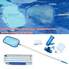 1 Set Swimming Pool Cleaning Tool Maintenance Kit Pool Skimmer Net Pool Vacuum a