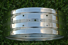 """VINTAGE Rogers 14"""" 5X14 DYNASONIC COB SNARE DRUM SHELL for YOUR DRUM SET! #E382"""