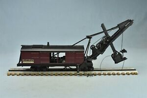 Antique BUCYRUS STEAM SHOVEL TRAIN MODEL with TRACK BROCHURE SO MILWAUKEE #02254