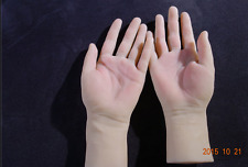 New arrival!one pair realistic silicone female mannequin hands for ring&jewelry