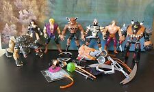Hercules The Legendary Journeys XENA  Action Figures Vintage Lot w accessories