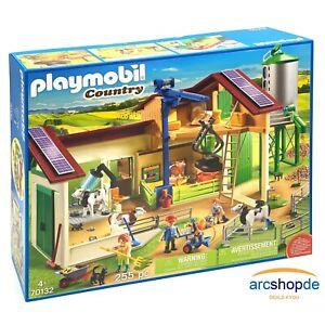 PLAYMOBIL® Country - 70132 - Großer Bauernhof mit Silo - NEU & OVP