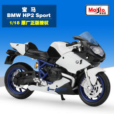 Maisto 1:18 BMW HP2 Sport Motorcycle Bike Model Toy New in Box