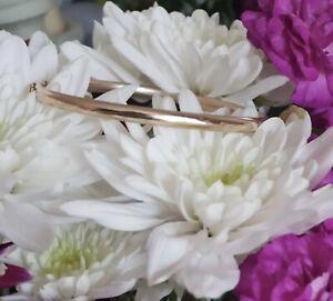 9ct Gold Plain Bangle Bracelet Gold Carat 9k Not Scrap