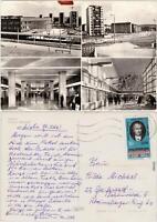 Foto Ansichtskarte  Plauen (Vogtland) Oberer Bahnhof - innen und außen 1974