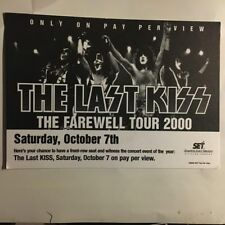 KISS The Last Kiss The Farewell Tour 2000 Pay Per View Postcard Ace Frehley Rare