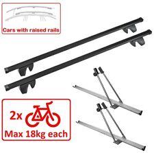 Set Roof Rack M03AF/130 + Bike Racks for 2 Bikes Toyota Hi Ace Van 97-02