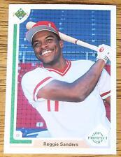 REGGIE Sanders 1991 Upper Deck Top Prospect Baseball Card #71...  (Mint)