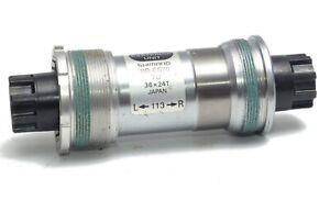 New NOS Shimano Deore XT Octalink (BB-ES70) Bottom Bracket (70x113mm)
