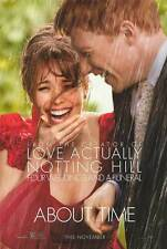 About Time Movie Poster Double Sided 27x40 inches