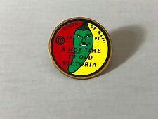 CINCO DE MAYO PIN, Victoria Texas pin, pin with pepper, vintage pin, souvenir