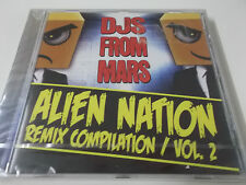 DJS FROM MARS - ALIEN NATION REMIX COMPILATION VOL. 2 - 2011 CD ALBUM - NEU!