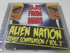 DJs From Mars-alieno nazione Remix compilation vol. 2 - 2011 CD album-NUOVO!