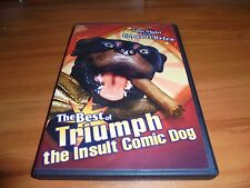 The Best of Triumph the Insult Comic Dog (DVD Full Frame 2004) Used Conan OBrien