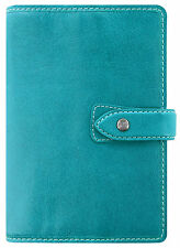 Filofax Malden Personal Organiser Kingfisher Blue Buffalo Leather Diary 026026