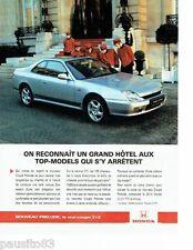 PUBLICITE ADVERTISING 116  1997   Honda  le nouveau Prelude coupé