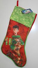 ARTHUR CHRISTMAS STOCKING Holiday Decorations Animated Movie Cartoon Kids NEW
