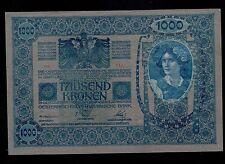 AUSTRIA  1000 KRONEN ( 1919-old date 2-1-1902 )  PICK # 59 AU-UNC.