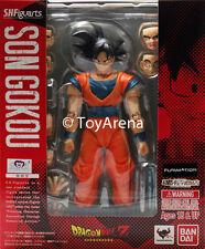SH S.H. Figuarts Dragonball Z Normal Ver 2014 Son Goku Action Figure USA SELLER