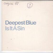 (FI549) Deepest Blue, Is It A Sin - DJ CD