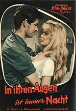 IFB 4235 | IN IHREN AUGEN IST IMMER NACHT | Brigitte Bardot, Alida Valli | Top
