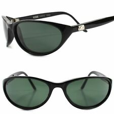 Old Fashioned Classic Genuine Vintage 60s Womens Black Cat Eye Style Sunglasses