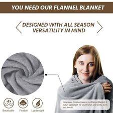 Towel Blanket Ultra Plush Artificial Fleece Warm