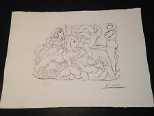 "Picasso ""Suite Vollard"" Bloch #205, Limited Edition, Picasso Family Authorized."