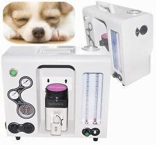Veterinary Animal Pet Anesthesia Machine Isoflurane Sevoflurane+Vaporize CO2 N2O