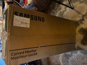 Samsung C34H890WJN computer monitor - C34H890WJN *cracked Screen*