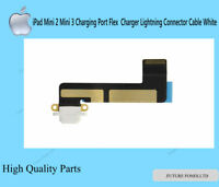 iPad Mini 1 2 3 A1432 A1489 A1599 Charging Port Connector Flex Cable White W