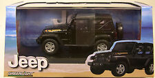 BLACK 2010 JEEP ISLANDER GREENLIGHT 1:43 SCALE DIECAST METAL MODEL