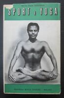 1952 Sport e Yoga Selva Raja Yesudian Elisabeth Haich Bocca meditazione Hatha