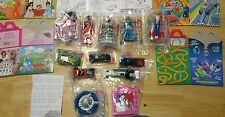 1996 MCDONALDS HAPPY MEAL TOYS COMPLETE SET BARBIE DOLLS OF THE WORLD HOT WHEELS