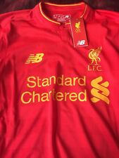 Liverpool Long Sleeve Authentic Jersey.