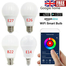 Smart Bulb Wifi Remote Timing Light 10W Dimmable for Alexa Echo Google Home Lot!