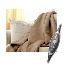 Édredons et couvre-lits beige en polyester