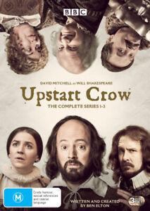 UPSTART CROW: THE COMPLETE SERIES 1 - 3 (2016) [NEW DVD]