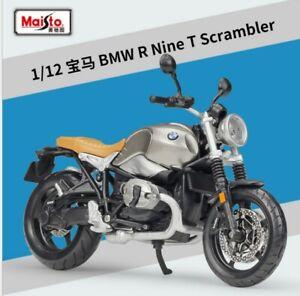 MAISTO 1:12 BMW R nineT Scrambler MOTORCYCLE BIKE DIECAST MODEL NEW