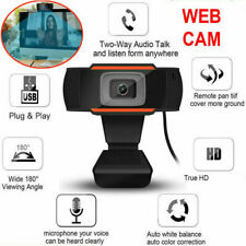 Web Camera HD Webcam 1080P Video Computer With Microphone PC  Laptop