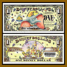 "Disney 1 Dollar, 2005 Series ""D"" Dumbo ""With Barcode"" Uncirculated"