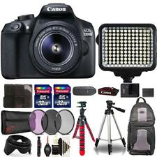 Canon EOS 1300D DSLR with 18-55mm Lens , 120 LED Light and Top Accessory Kit