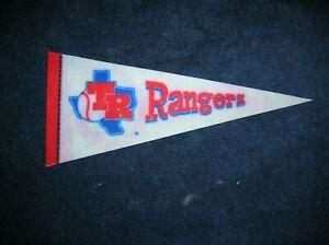 Texas Rangers 1970's mini pennant